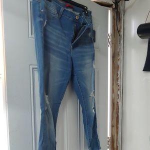 Jennifer lopez skinny stretch jeans